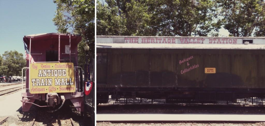 Fillmore Antique Train Mall
