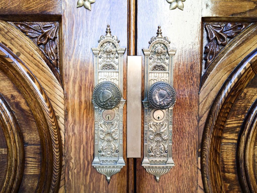SLC Mormon Temple Doors