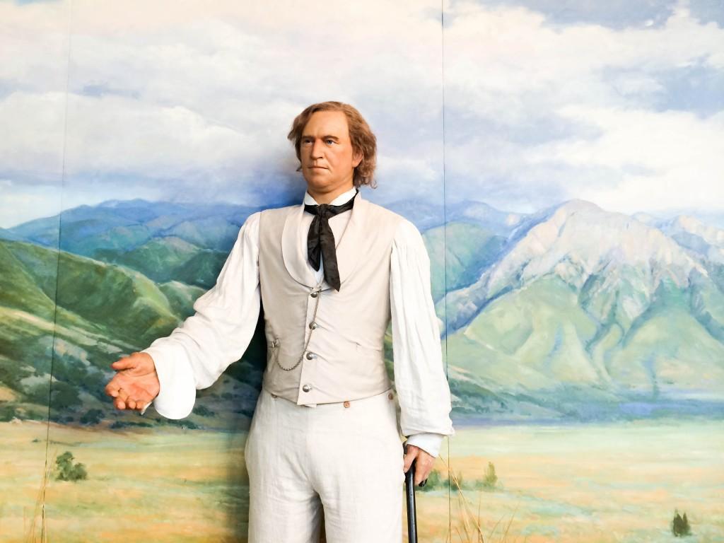 SLC Mormon Temple Visitors Center