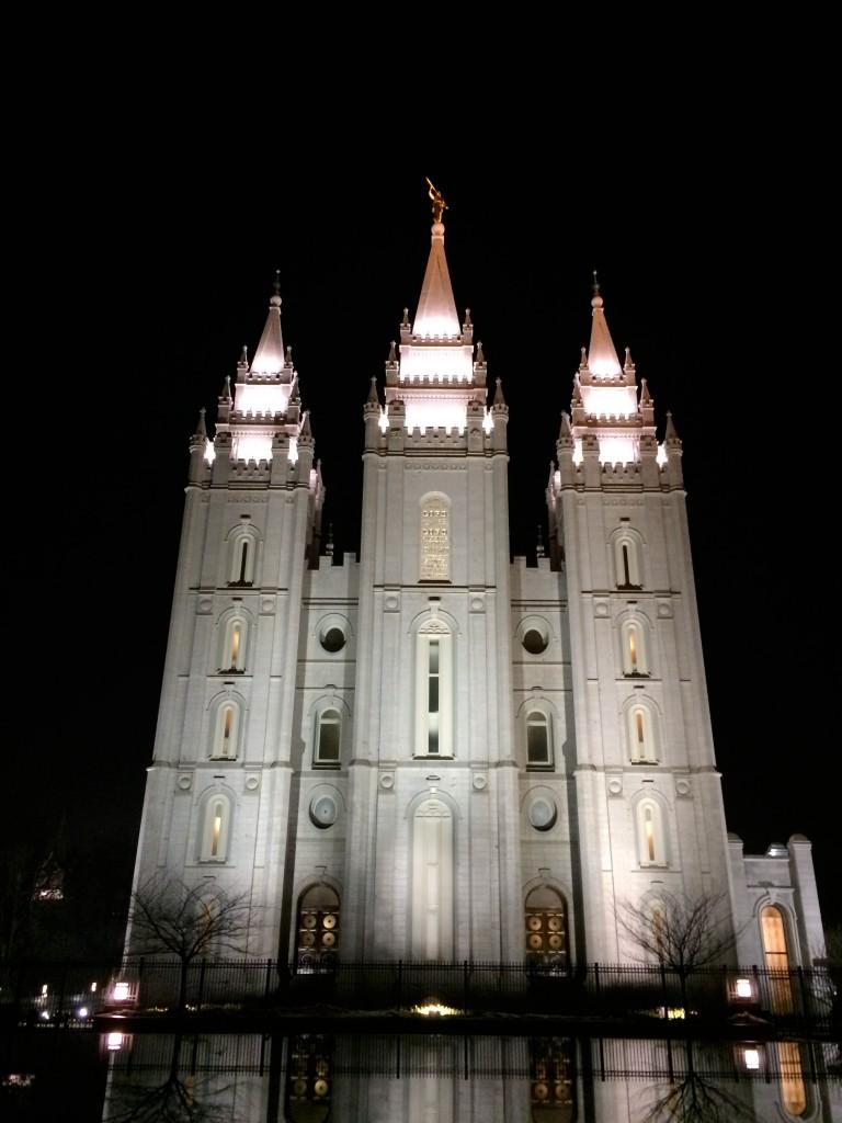 Salt Lake City Mormon Temple