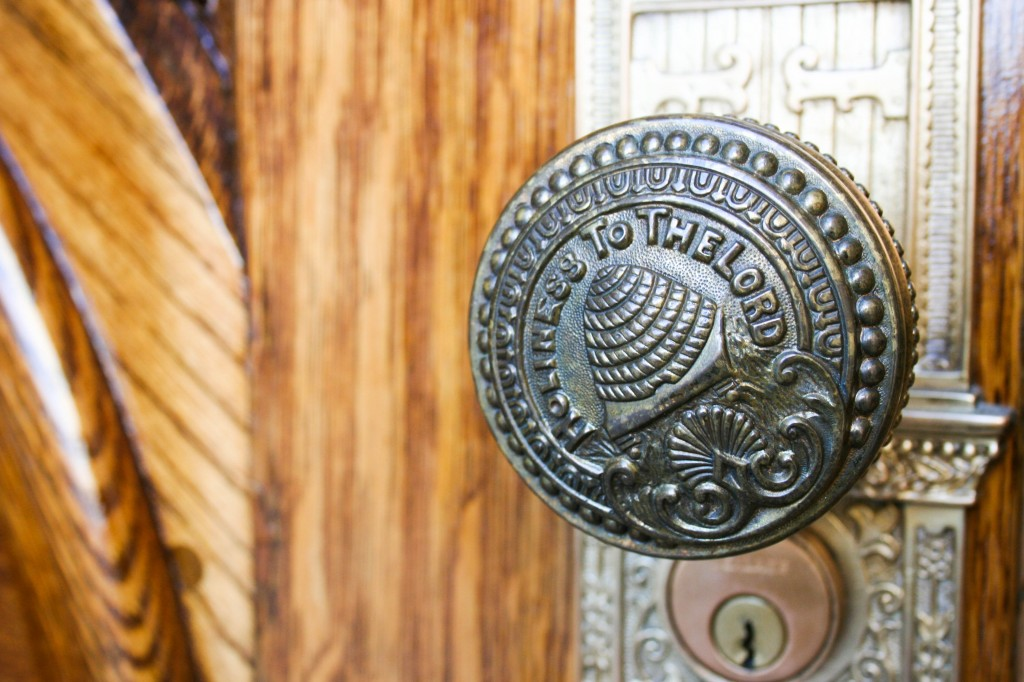 Mormon Temple Doorknob