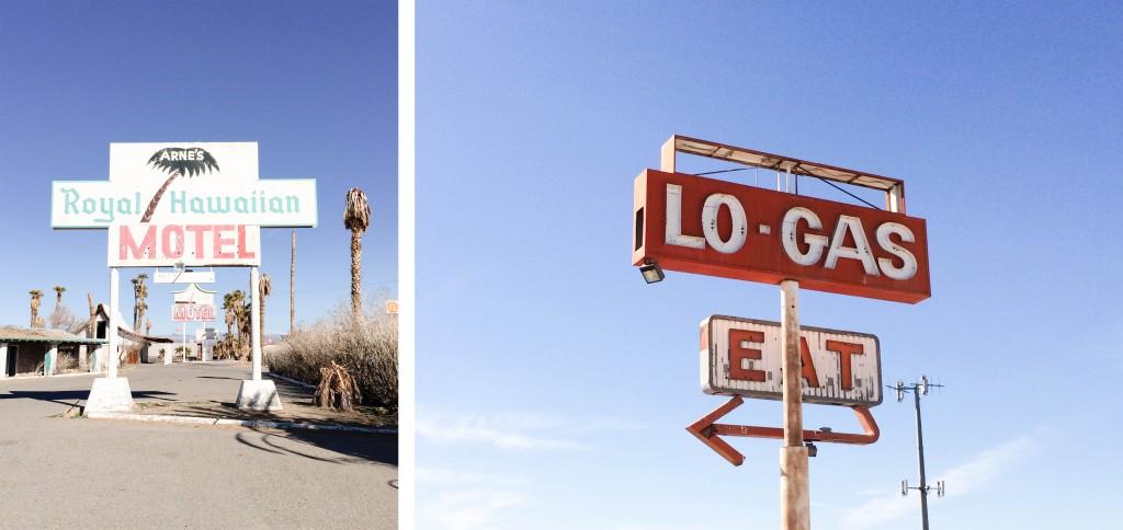 Las Vegas desert ruins