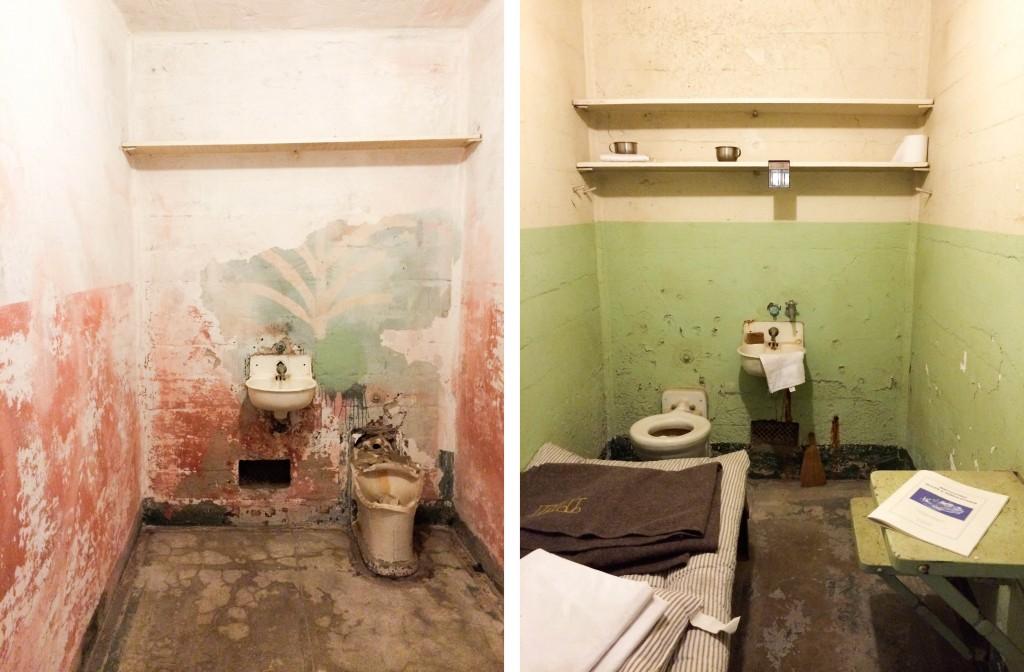 Alcatraz Cells