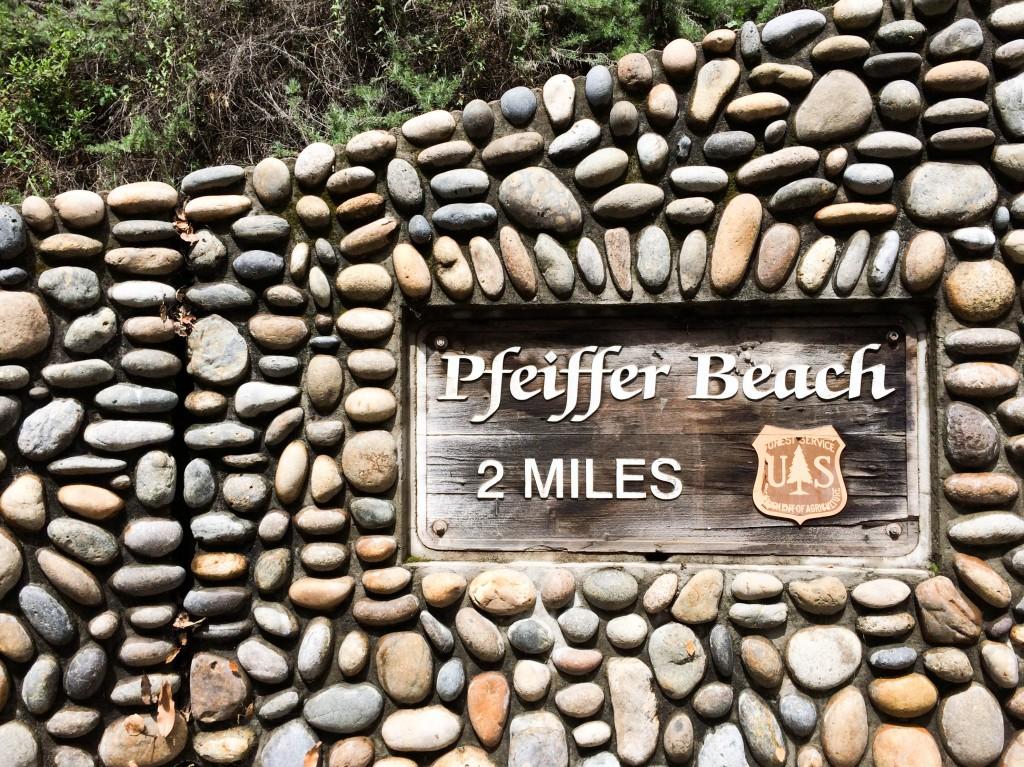 Big Sur Pfeiffer Beach