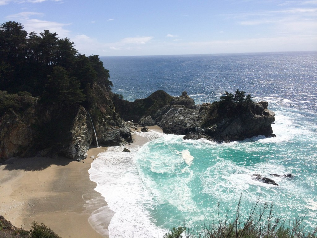Big Sur Pfeiffer Burns State Park McWay Waterfall