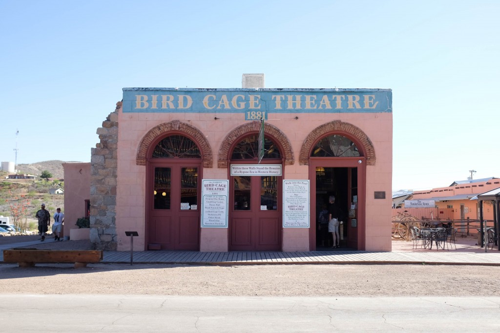 Bird Cage Theatre Tombstone