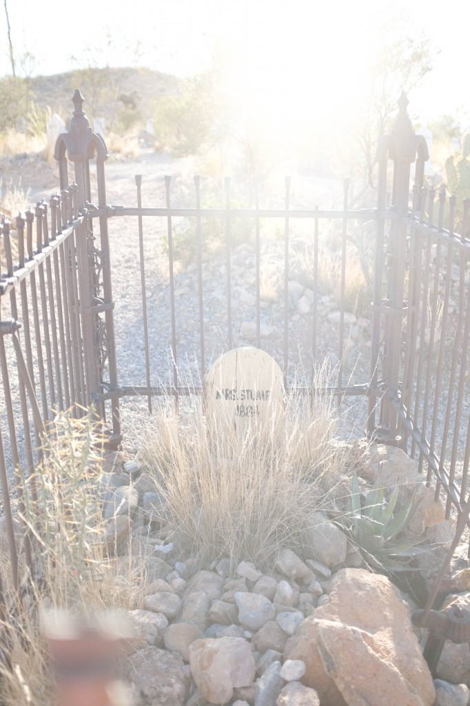 Boothill Tombstone