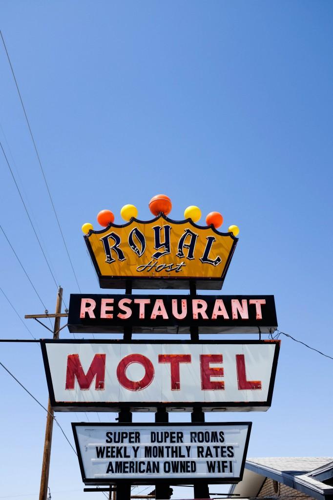 Royal Motel, Vintage Neon Sign, Las Cruces