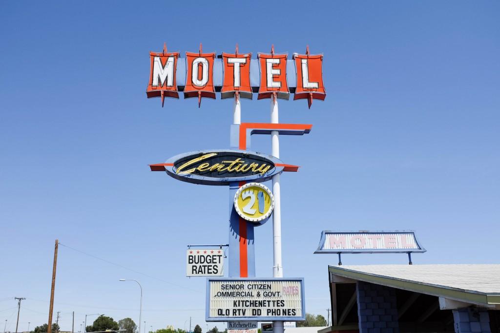 Century 21 Motel, Vintage Neon Sign, Las Cruces