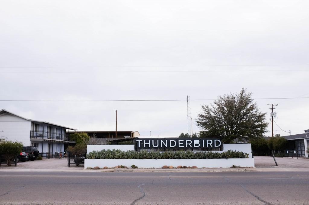 Thunderbird Hotel Marfa