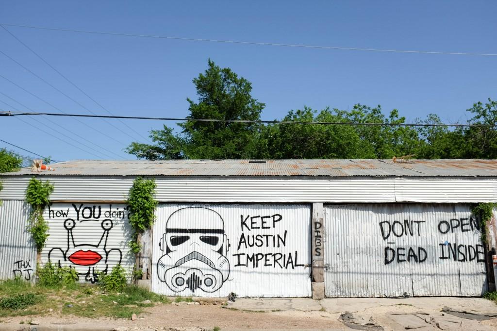 Keep Austin Imperial Mural