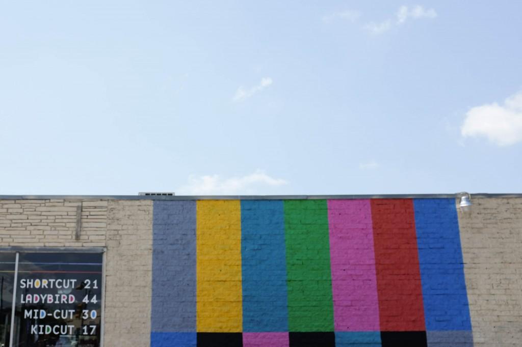 Austin TV Mural