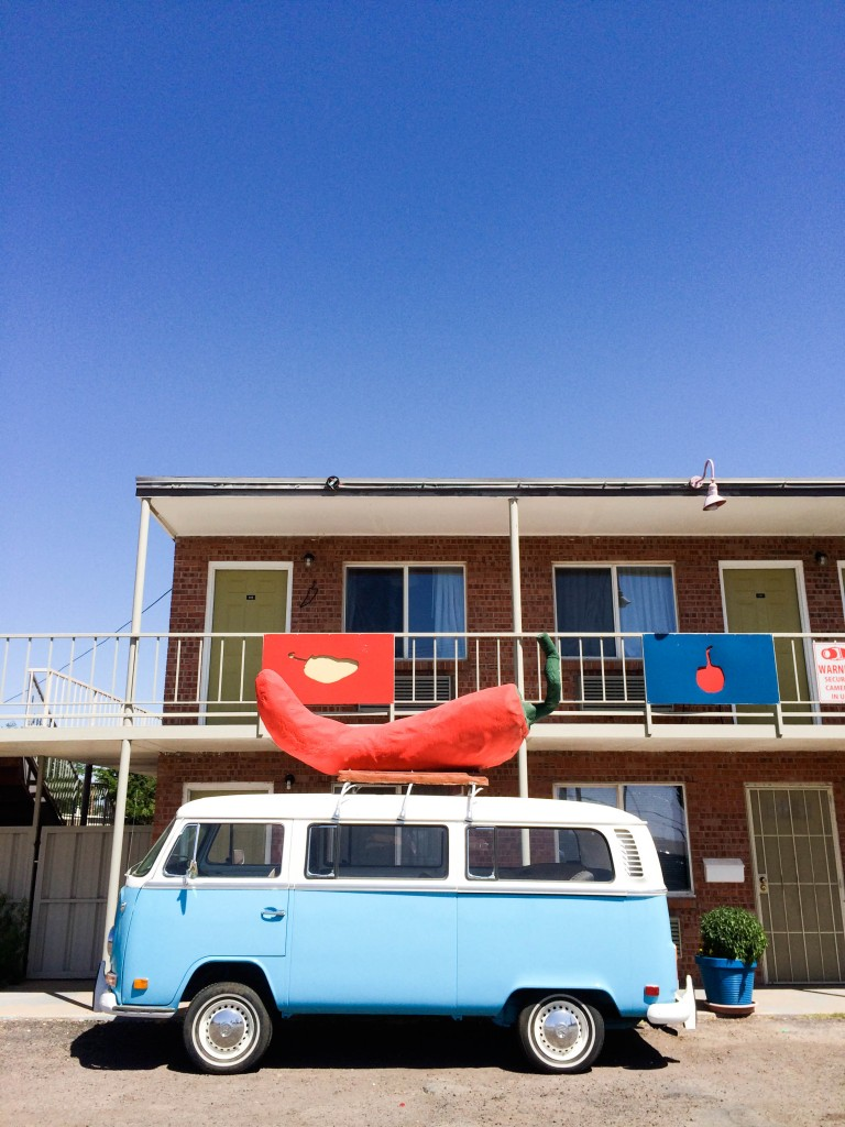 Giant Chile Pepper Motel Las Cruces