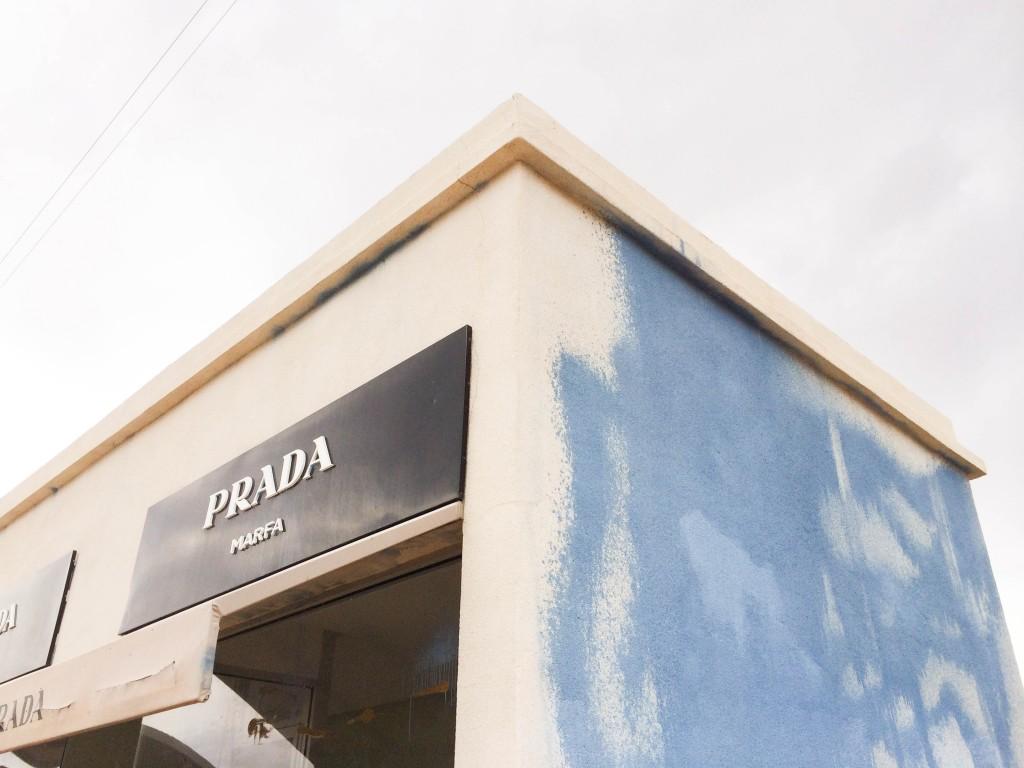 Prada Marda vandalized
