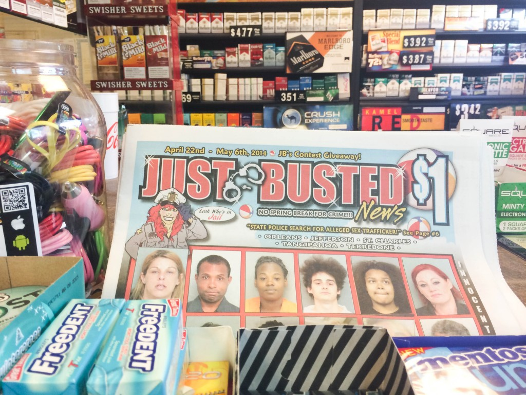 Just Busted New Orleans