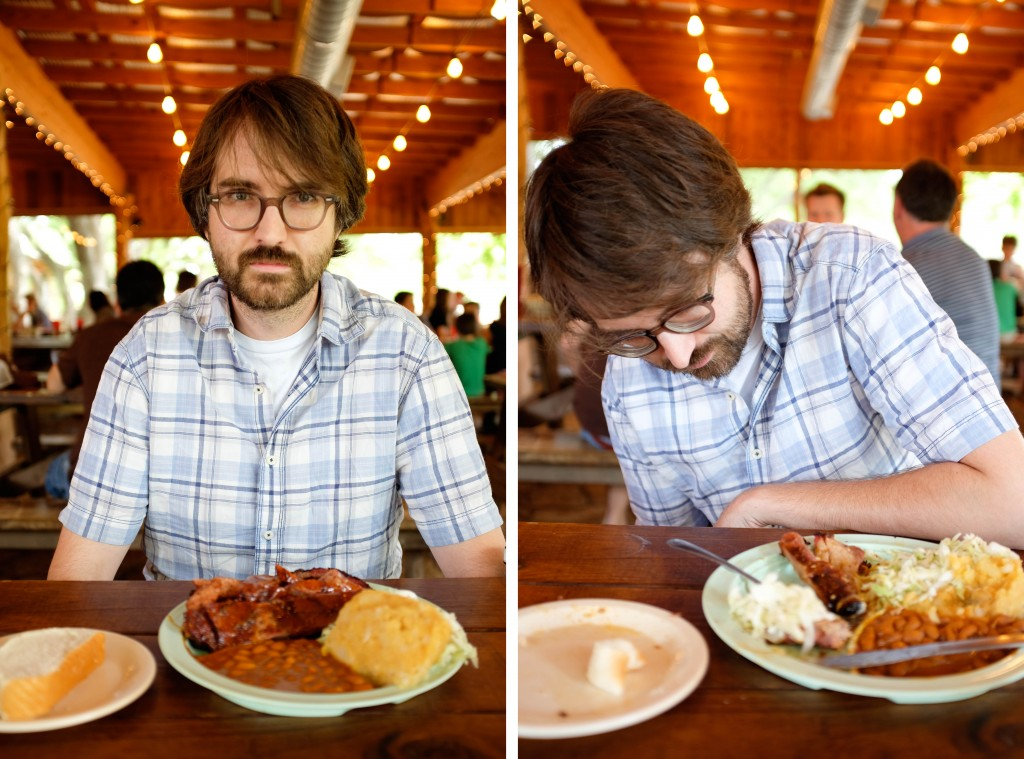 Salt Lick BBQ Before and After