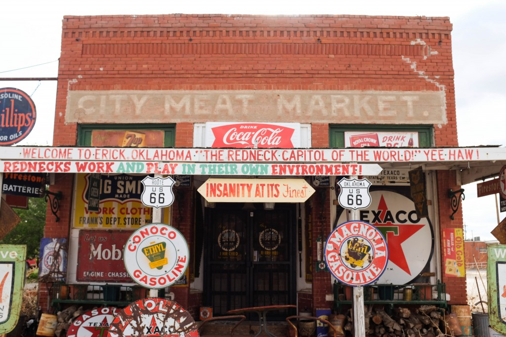 Sand Hills Curiosity Shop Erick Oklahoma Route 66