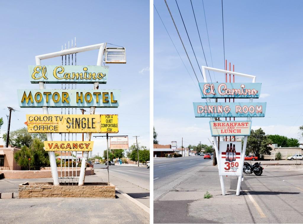 Santa Fe Albuquerque Route 66