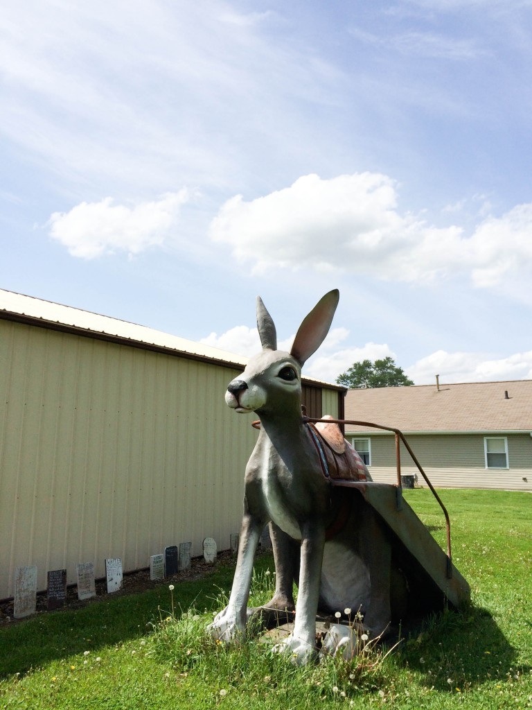 Springfield to St Louis Route 66 Henrys Rabbit Ranch