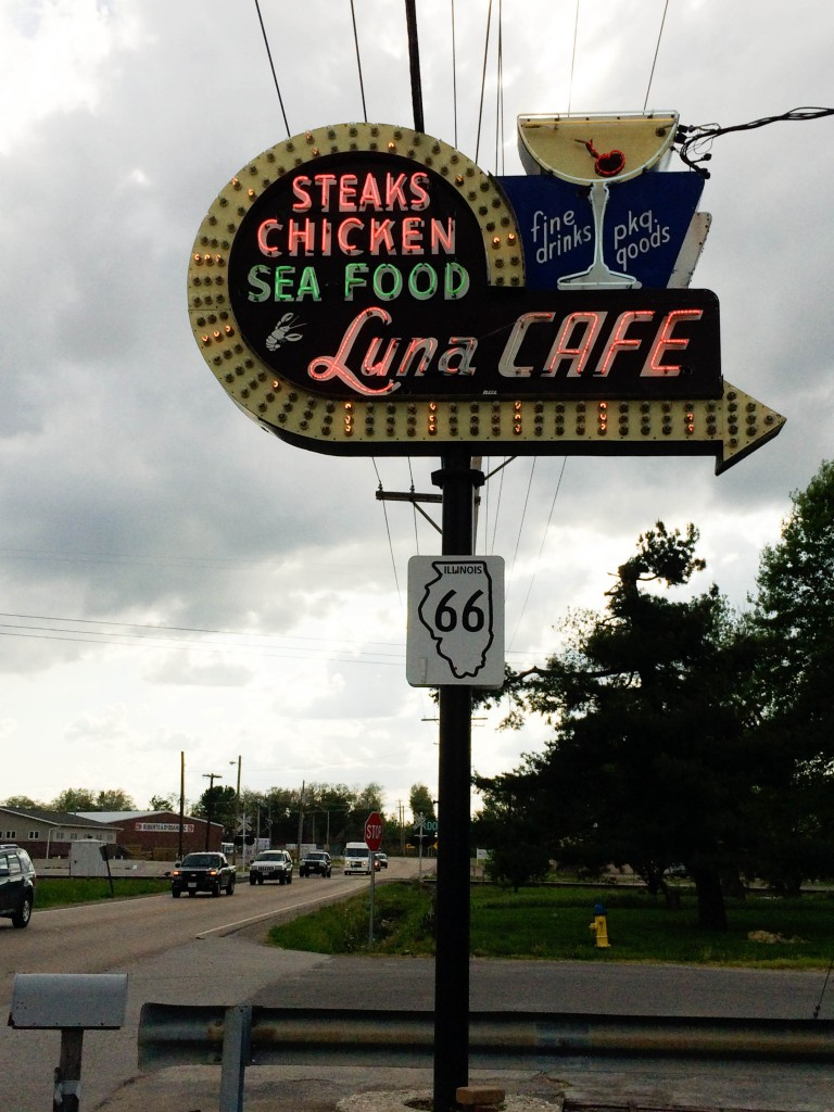 Springfield St Louis Route 66 Luna Cafe - Legal Miss Sunshine