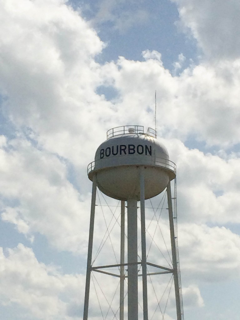 St Louis Lebanon Bourbon Water Tower Route 66