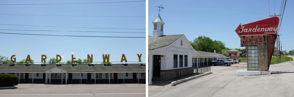 St Louis Lebanon Route 66 Gardenway Motel