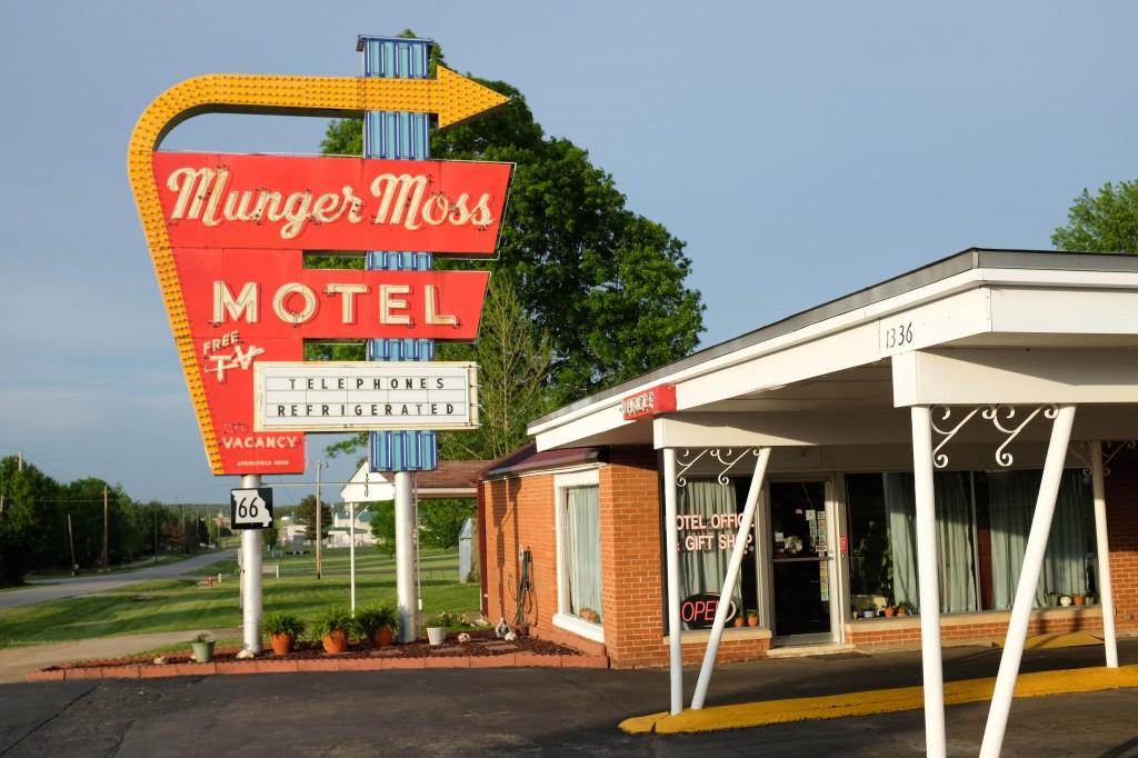 Lebanon Route 66 Munger Moss Motel