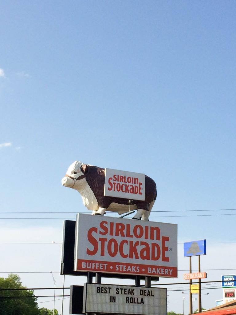 St Louis Lebanon Route 66 Sirloin Stockade