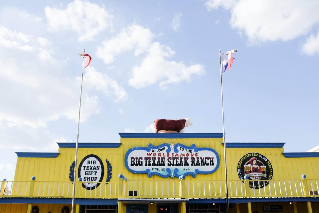 The Big Texan Amarillo Route 66