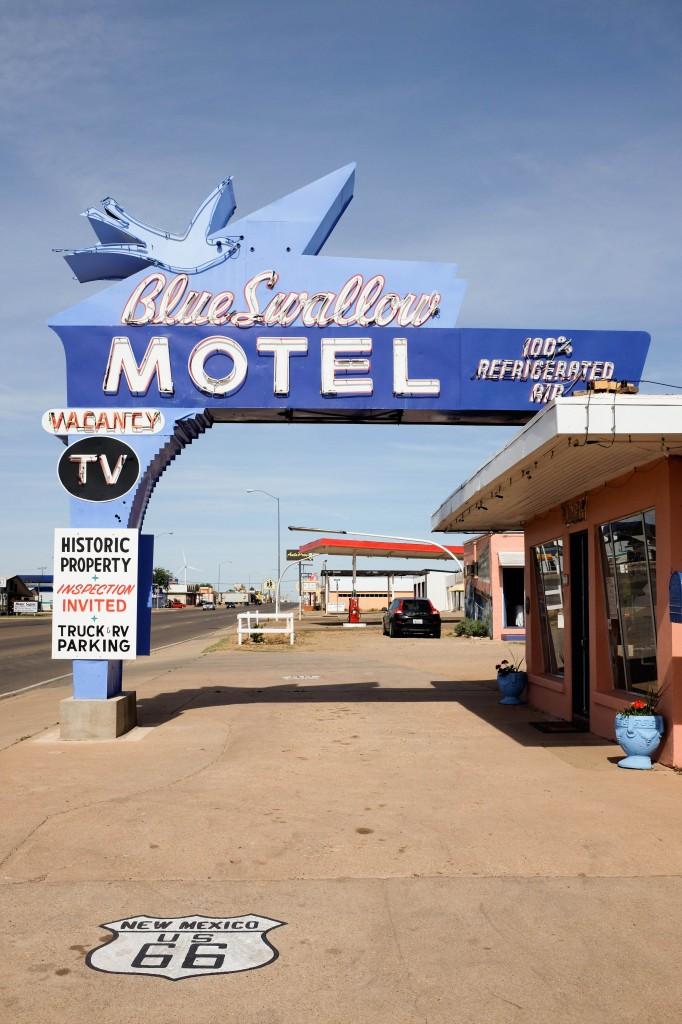 Tucumcari Blue Swallow Route 66
