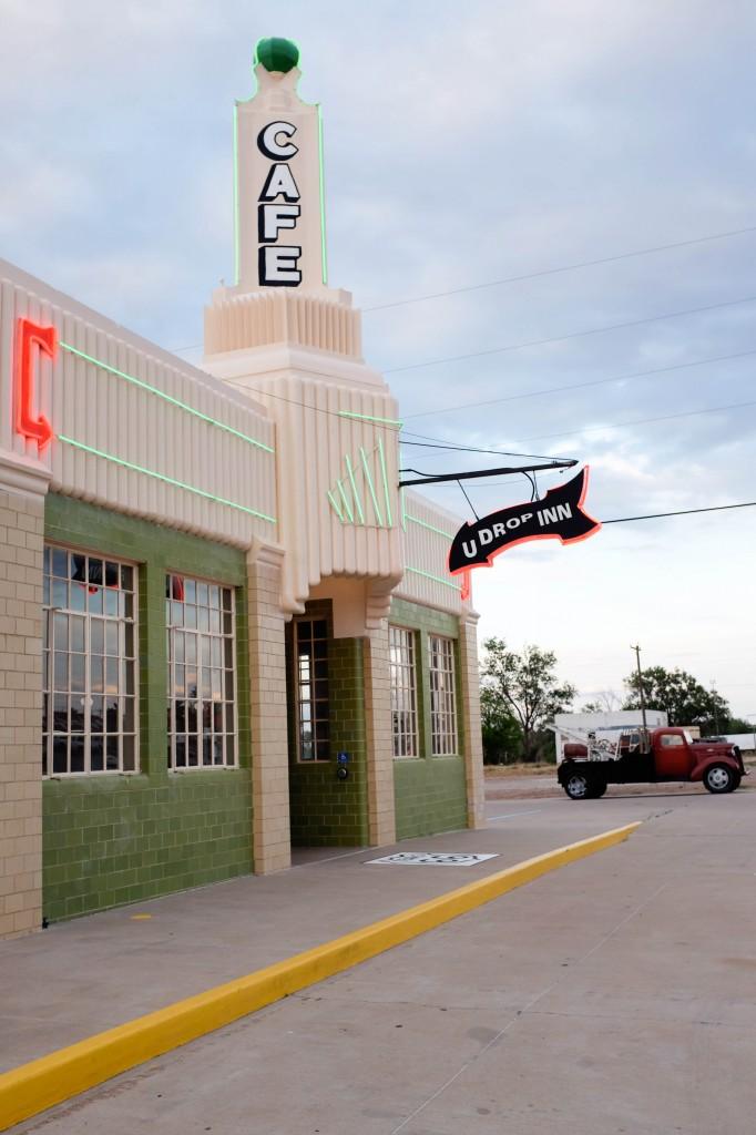 U-Drop Inn Oklahoma City Shamrock Route 66