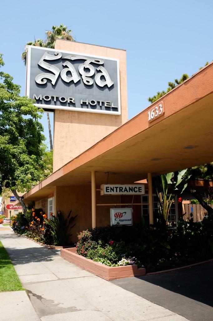 Pasadena Saga Motel Route 66