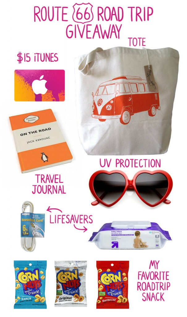 Route 66 Road Trip Essentials Giveaway
