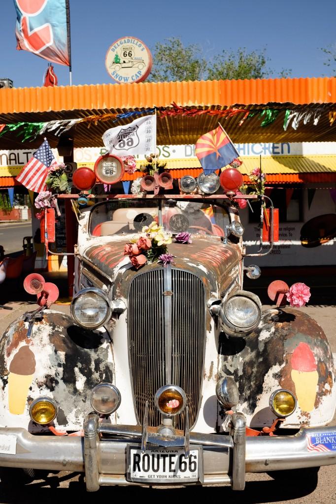 Seligman Snow Cap Drive In Route 66 - Legal Miss Sunshine