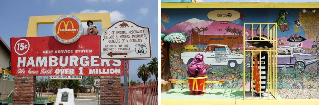 Unofficial McDonalds Museum San Bernadino Route 66