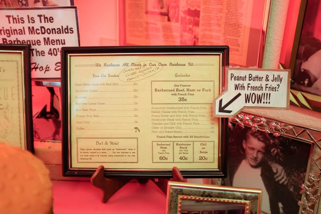 Unofficial McDonalds Museum San Bernadino Route 66 - Legal Miss Sunshine