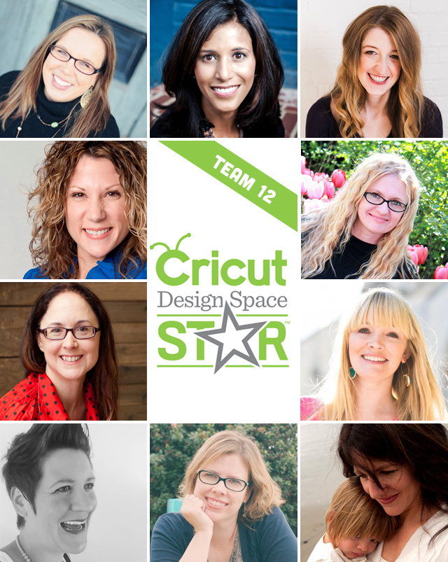 Cricut Design Space Star Team 12