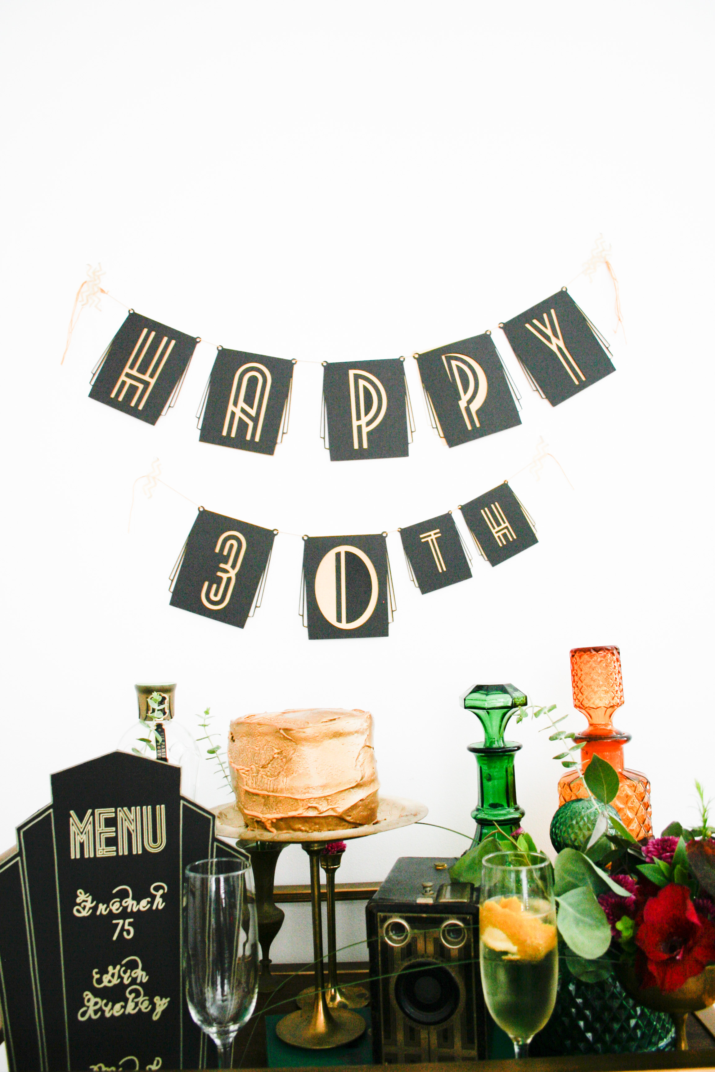 Diy Roaring 20s Birthday Or New Years Eve Party Banner
