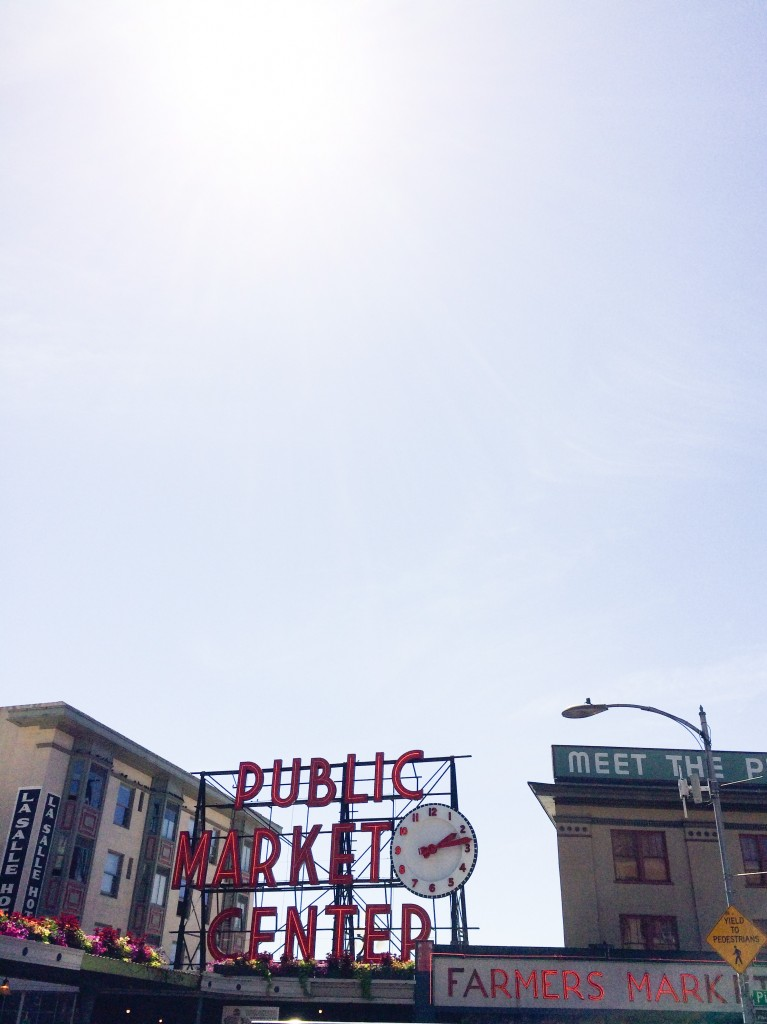 Seattle Pike Place Market - Legal Miss Sunshine