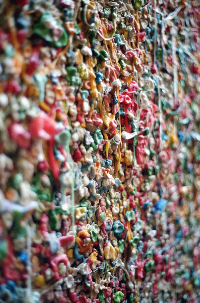 Seattle Pike Place Market Gum Wall - Legal Miss Sunshine