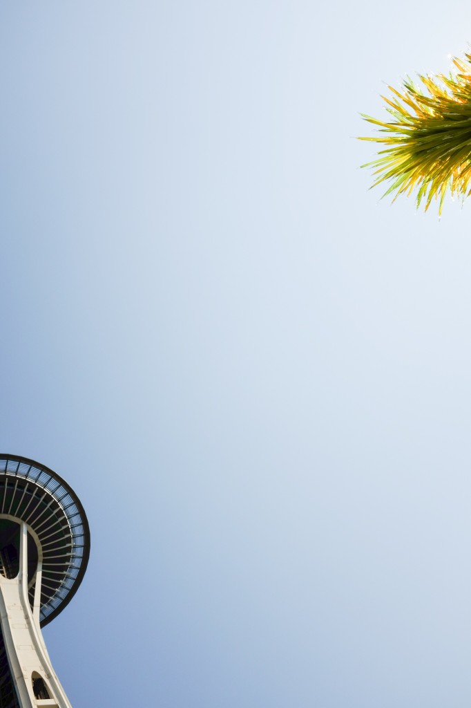 Seattle Space Needle Chihuly - Legal Miss Sunshine