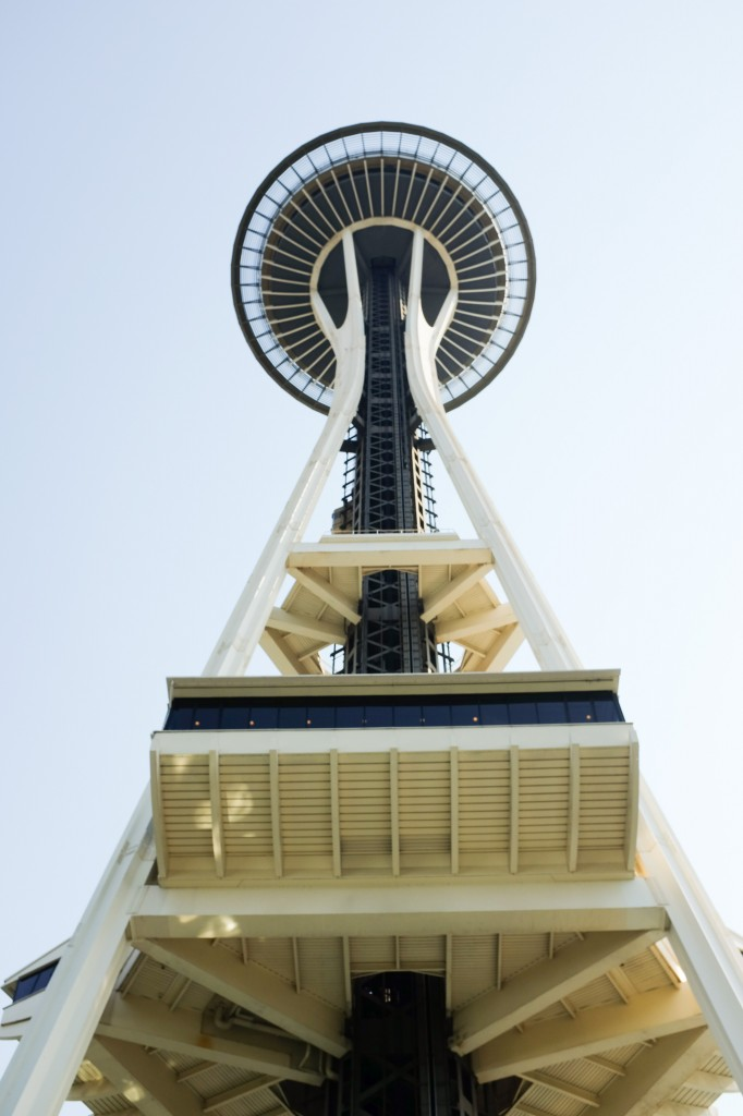 Seattle Space Needle - Legal Miss Sunshine