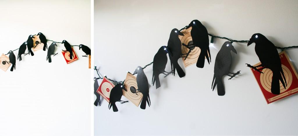 Creepy Crow Garland - Legal Miss Sunshine
