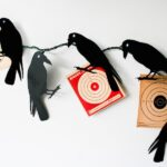 DIY Creepy Crow Garland