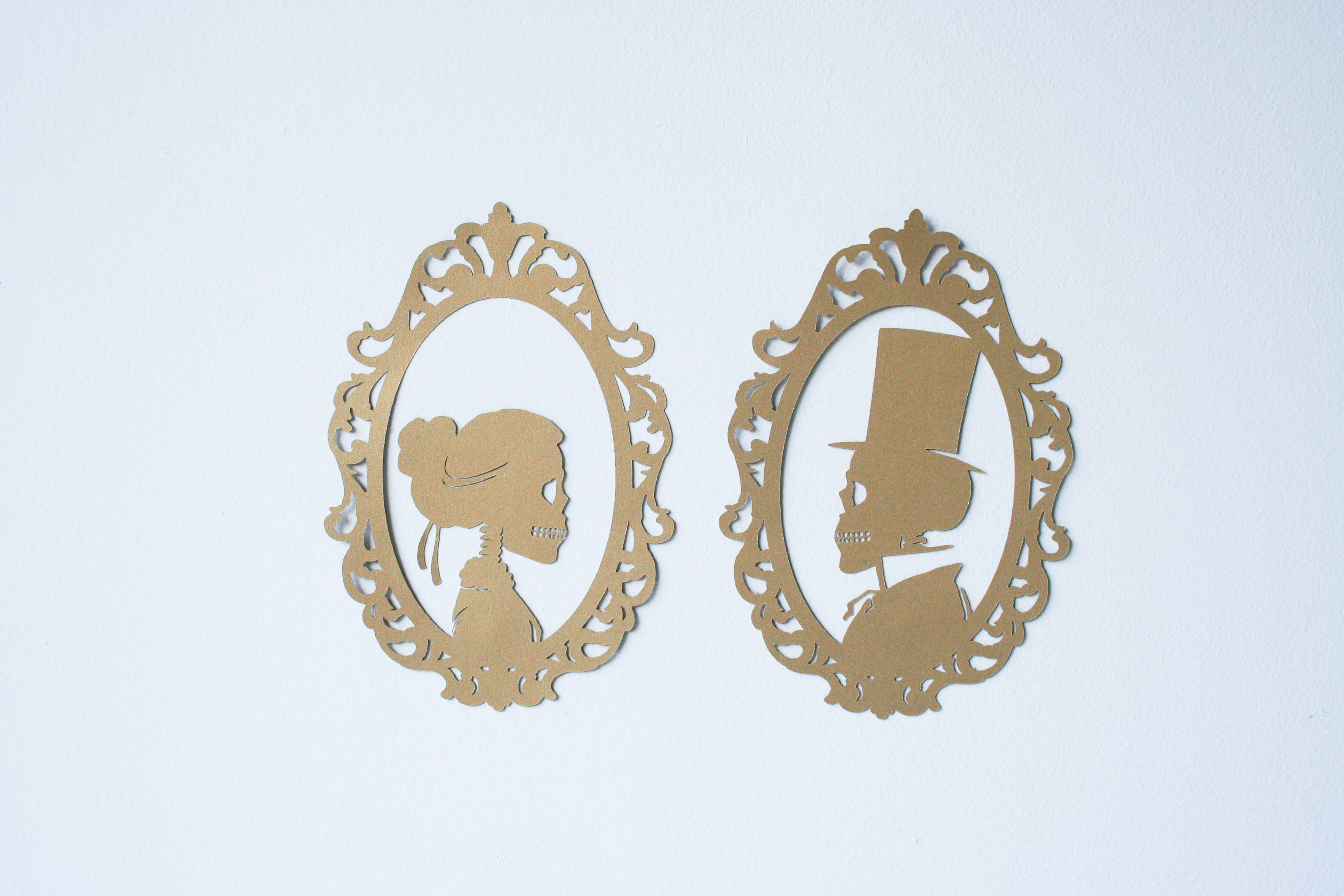 Diy Skeleton Silhouettes Salty Canary