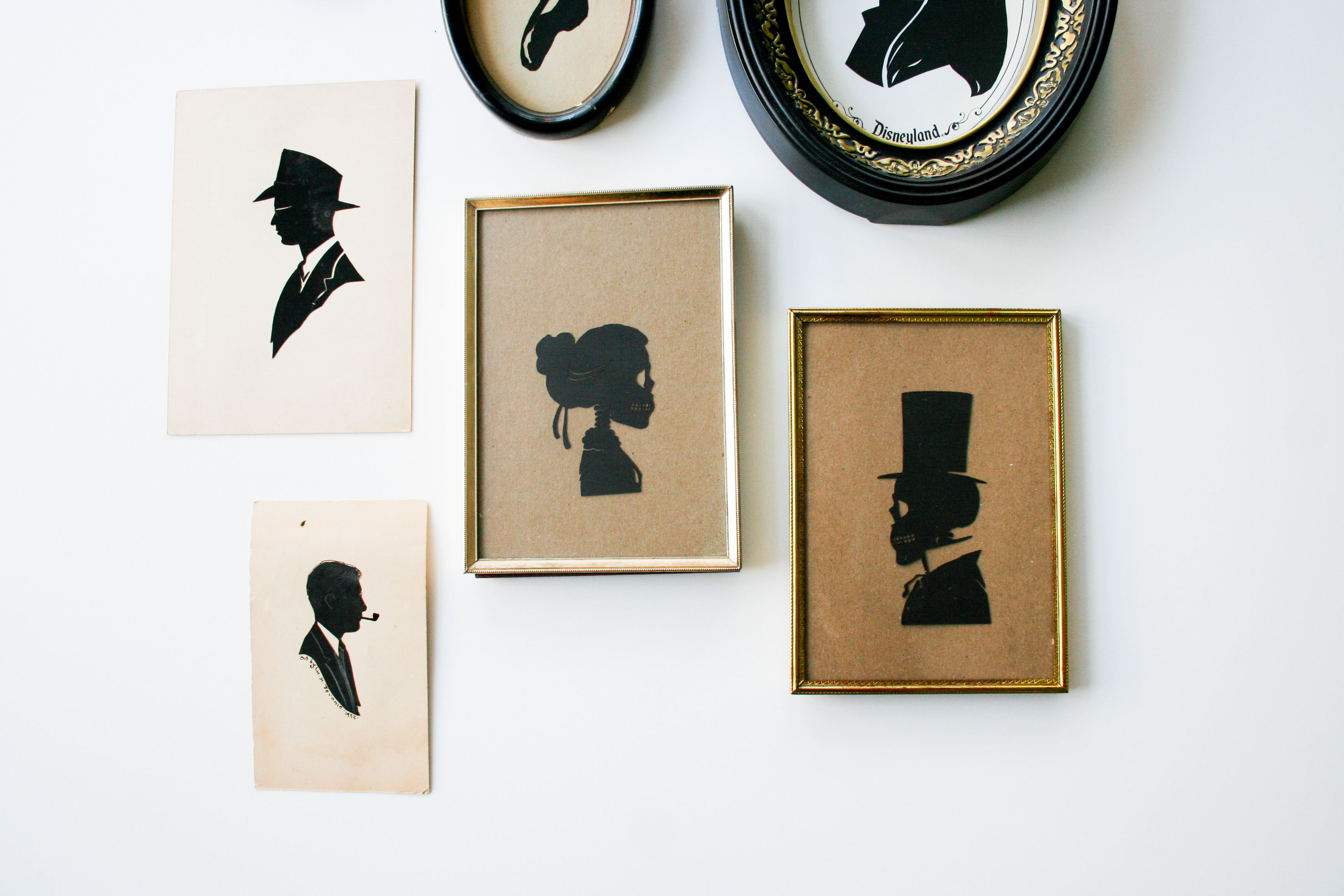 Diy Skeleton Silhouettes