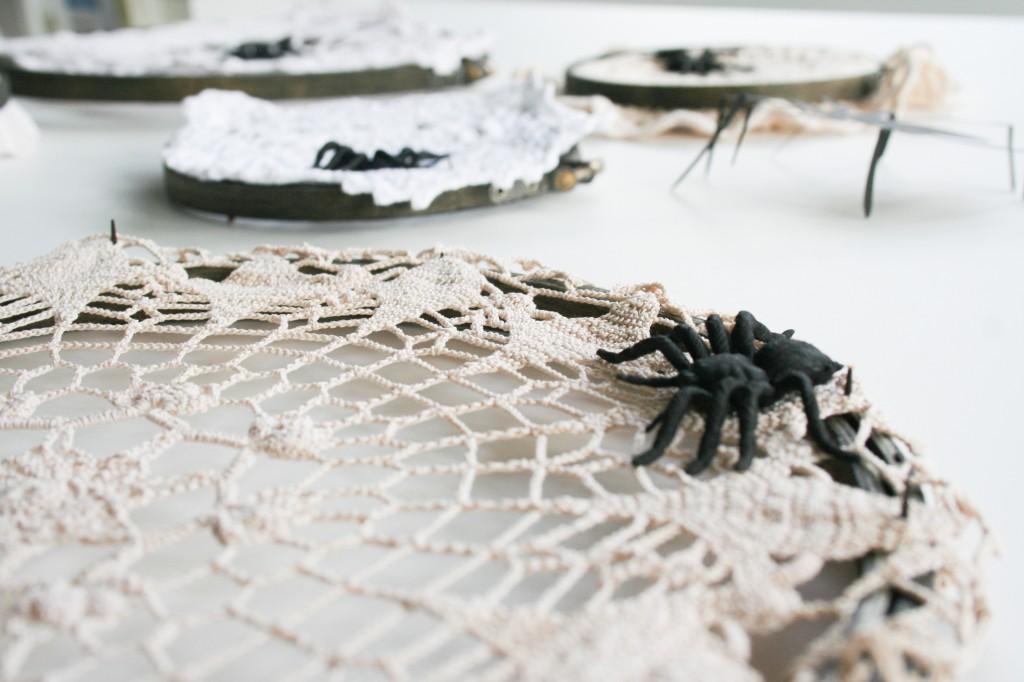 Halloween Spiderweb Doilies - Legal Miss Sunshine