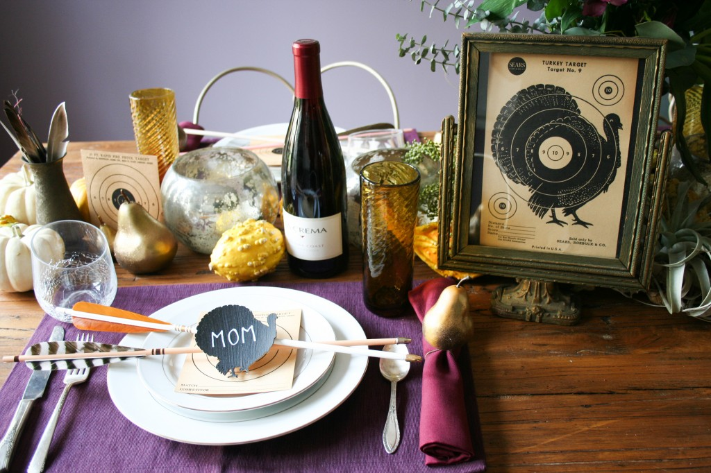 Cricut DIY Thanksgiving Turkey Shoot - Legal Miss Sunshine