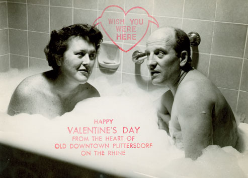 Julia Child 1956 Bathtub Valentine - Legal Miss Sunshine