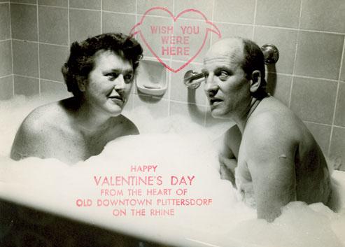 Julia Child 1956 Bathtub Valentine - Legal Miss Sunshine
